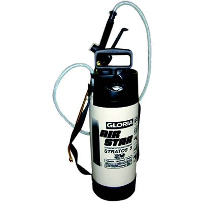 Gloria Air Star Stratos 5 Litre Compression Sprayer - Plastic - Viton