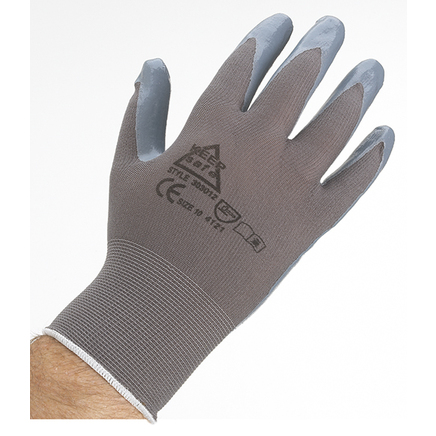 Deltaplus VE722 Nitrile Coated Work Gloves - Extra Large Size 10