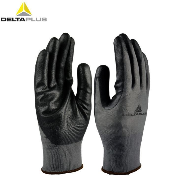Deltaplus Safety Gloves - Polyester Nitrile Foam Coating - VE722