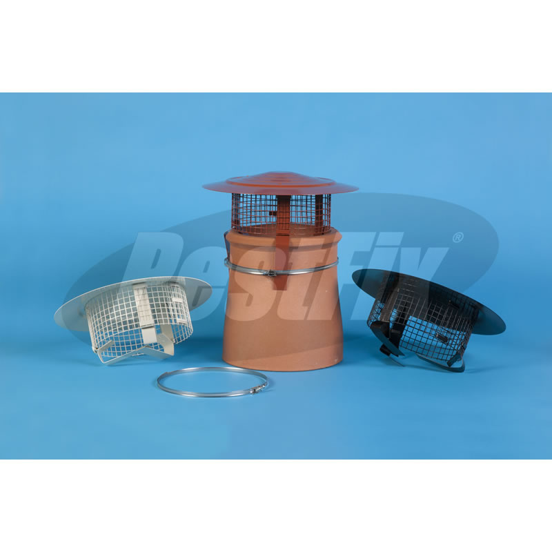 Chimney Cowl Bonnet  Rain Guard - Standard Top
