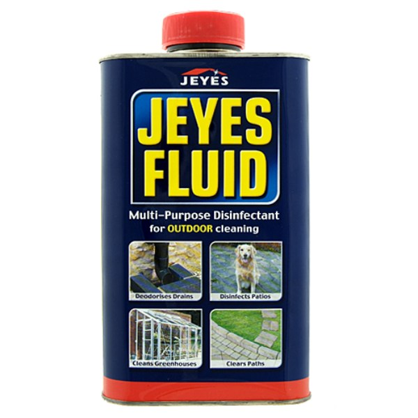 Jeyes Fluid Concentrate Disinfectant Defra Approved For Bird Flu