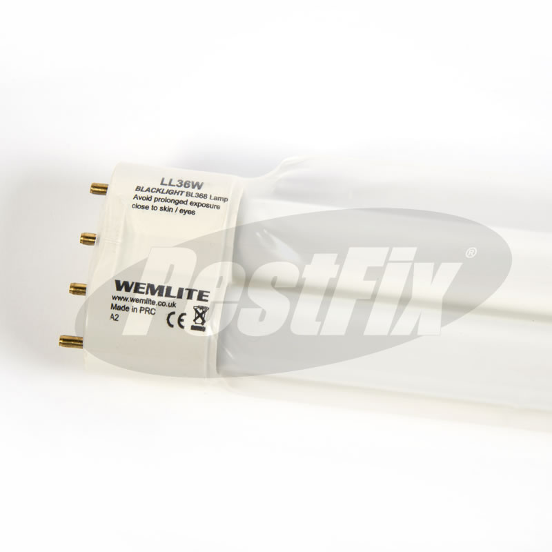 Electrosect LUV036-000 -  Wemlite LL36WS-W 36W Lynx 4 Pin Safety UVA Lamp
