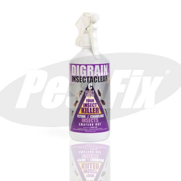 Digrain Insectaclear C Surface Spray Moth Killer