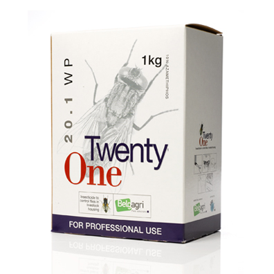 Belgagri Twenty One Fly Killer 4 x 250g Sachets