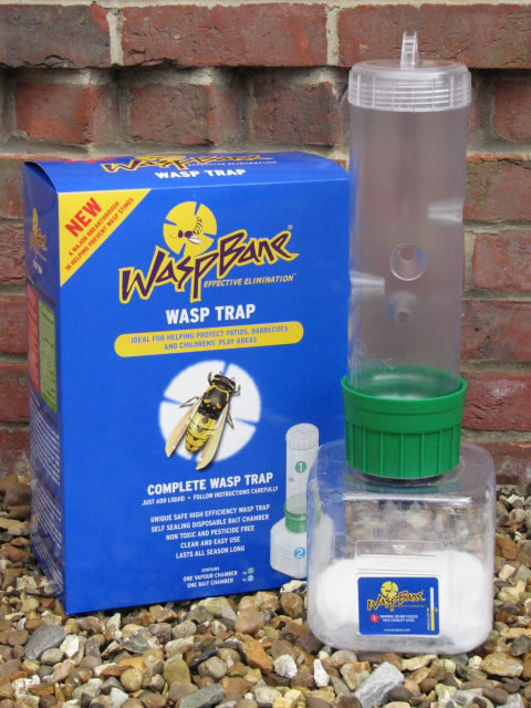 WaspBane High Efficiency Wasp Trap - Complete