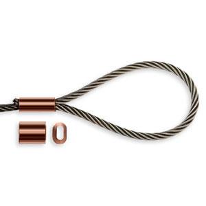 Copper Ferrules DIN 3.5 100 pack