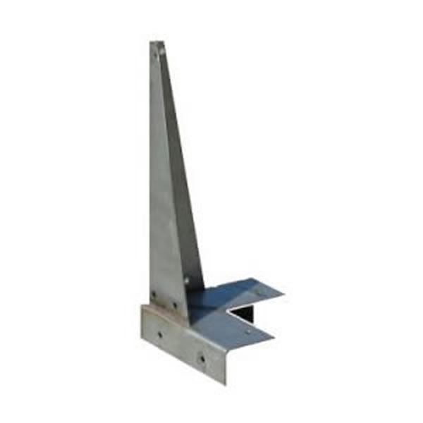 Dormer Roof Corner Bracket 380mm - Stainless Steel