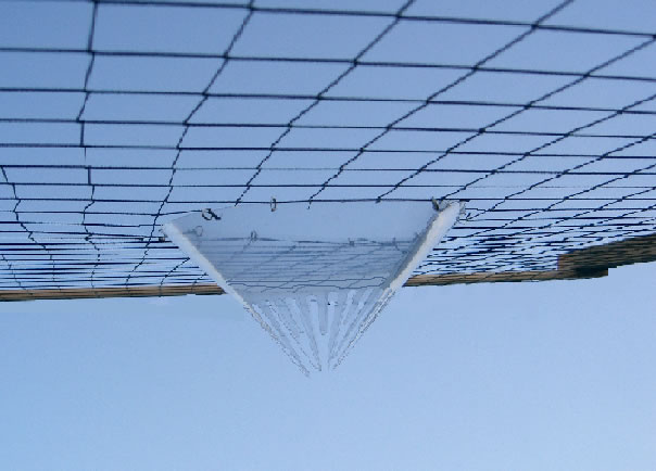 Bird Scape Humane Netting Escape Funnels
