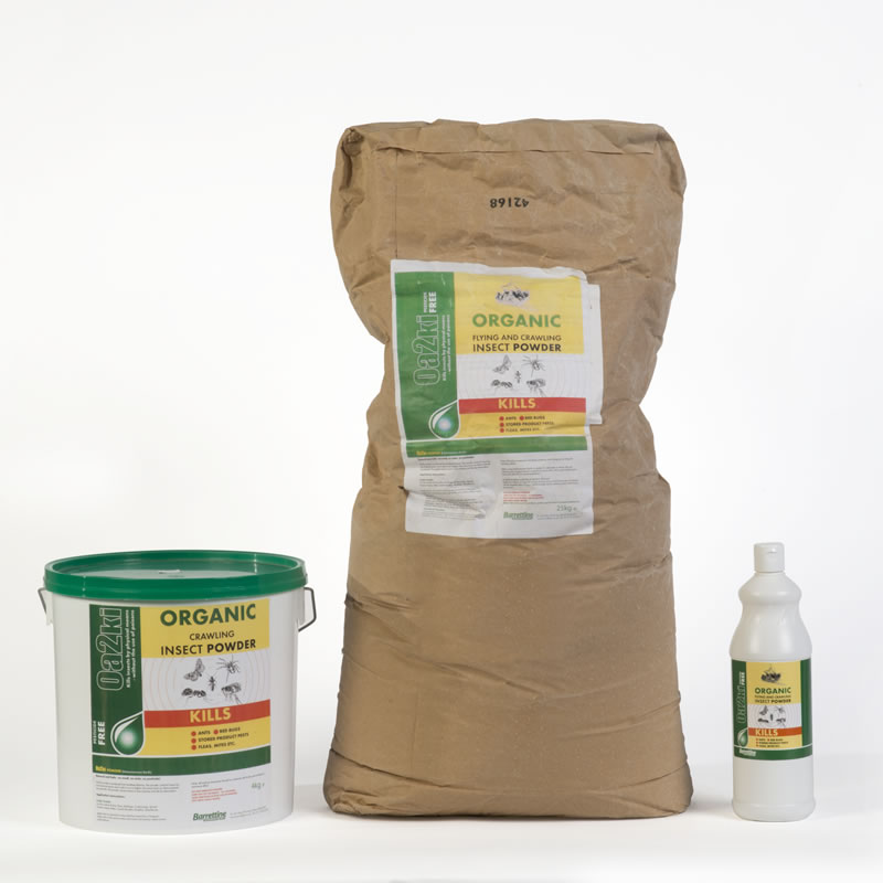 Oa2ki Organic Diatomaceous Earth Flea Powder