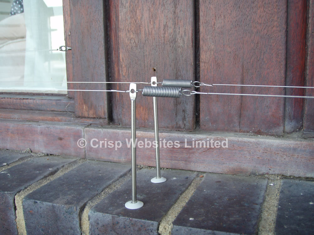 Pigeon Post and Wire Kits For Masonry