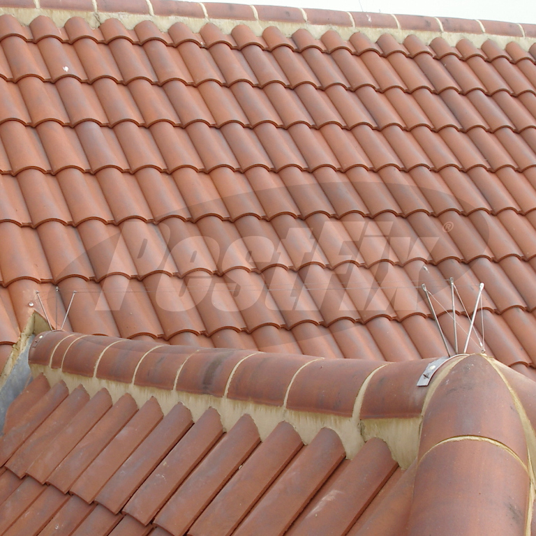 Seagull Post and Wire Kit For Half Round Ridge Tiles