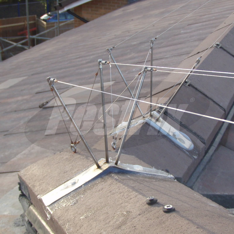 Pigeon Post and Wire Kits For Triangular Ridge Tiles