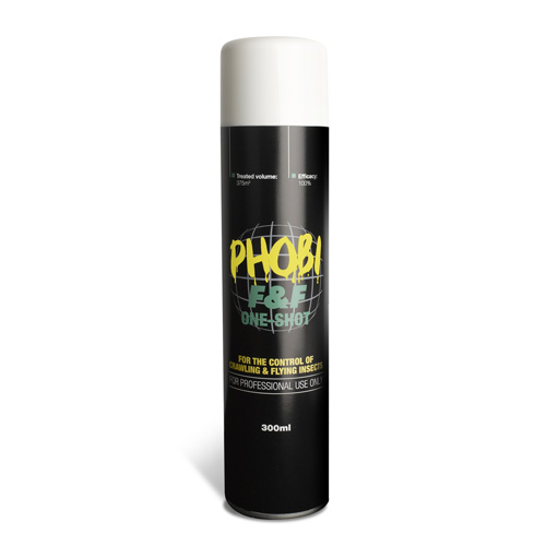 Phobi F and F One Shot Moth Killer Aerosol Fogger