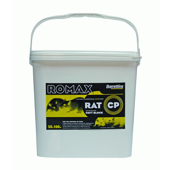 ROMAX Rat CP Coumatetralyl Bait Blocks
