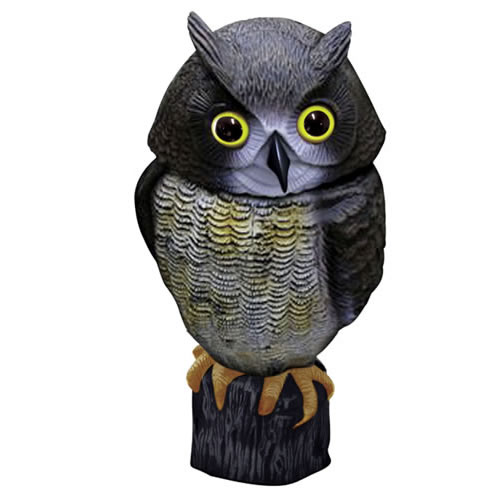 Wind Action Owl Decoy