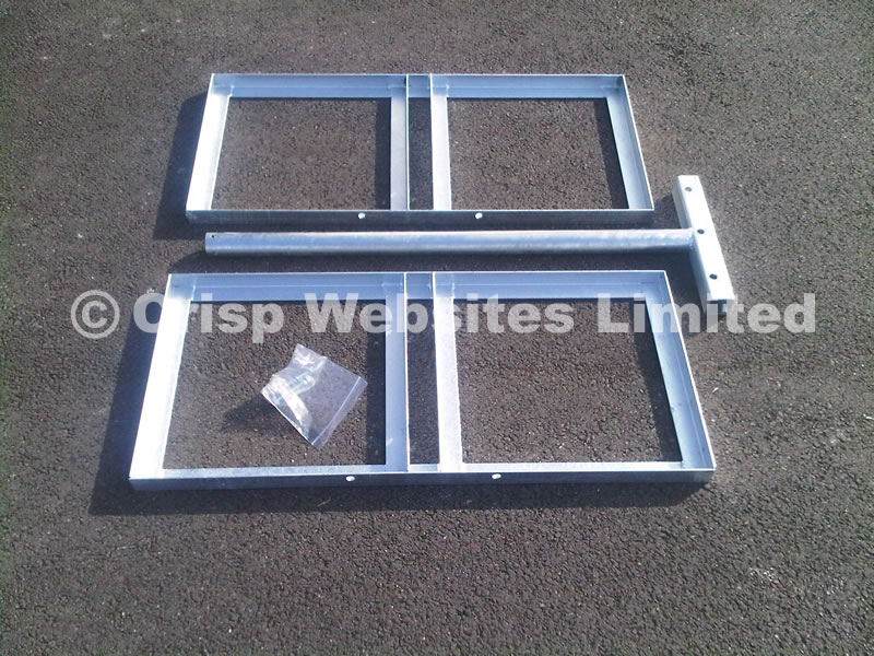 Corner Non Piercing Roof Mount