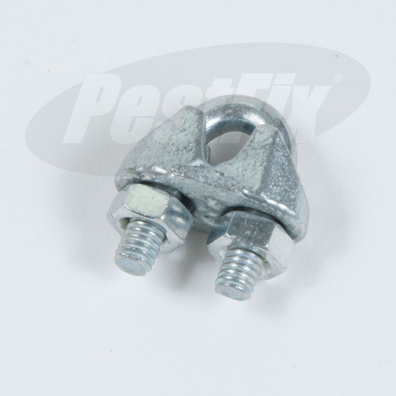 Wire Rope Grips M3 For 2mm and 3mm Wire Rope X 20