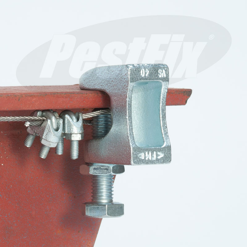 Beam Clamp Structural Steel Corner Fixing 0 - 20mm