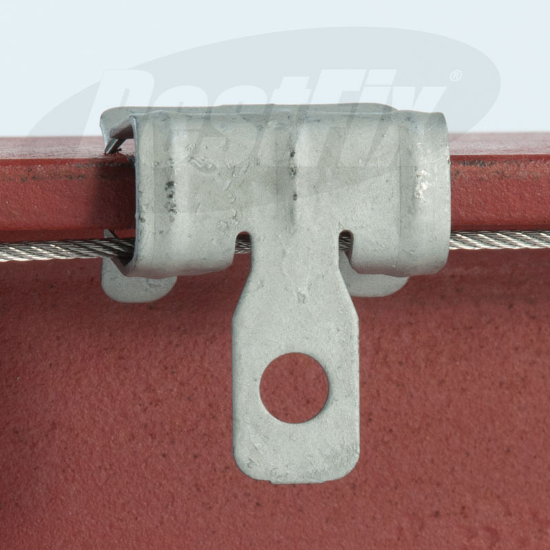 75mm Seagull Netting Fixing Kit For 14-20mm Steelwork - Standard