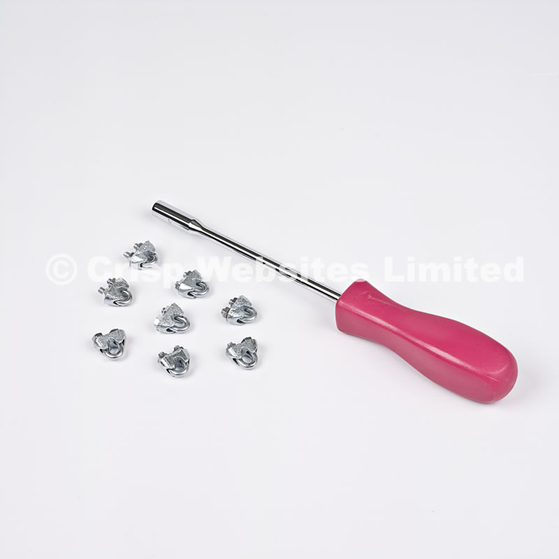 7mm Nut Spinner Tool For Wire Rope Grips