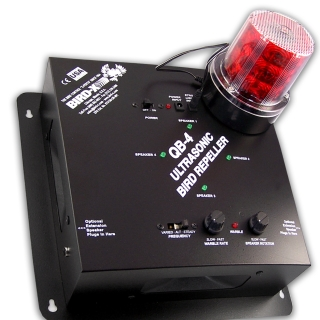 Super Quadblaster QB-4 With Integrated Strobe Light