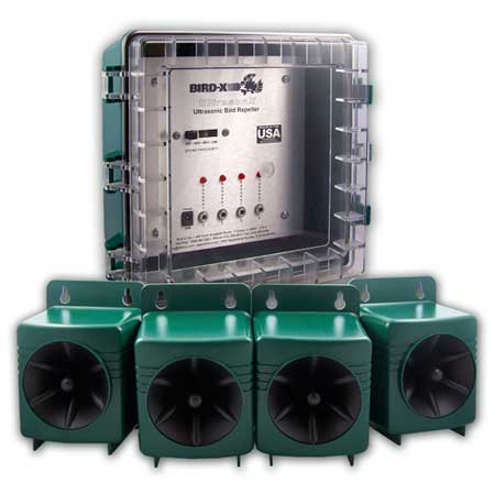 UltrasonX 4 Speaker Ultrasonic Deterrent